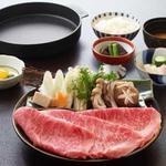 たか福 - 料理写真:すき焼定食〈霜降肉〉4,935円
