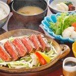 たか福 - 特上牛ステーキ膳 2,415円~