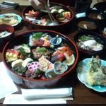 セントラーレホテル京丹後 - 料理写真:晩御飯 私情によりお弁当 。お手紙付き(^^)