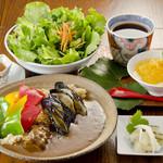 つどい - 黒毛和牛・季節野菜の玄米カレー¥1380