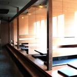 焼肉ホルモン 王道 - ひろーいお席に掘りごたつ☆女子会・宴会・飲み会などにももってこい!