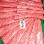 多喜万精肉店 - 黒毛和牛超特選スライス100g 1160円