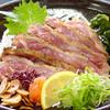 Waraku - 料理写真:名物 もも肉たたき