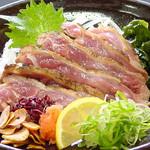 和楽  - 料理写真:名物 もも肉たたき