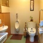 コジマヤ本店 - バリアフリートイレ、赤ちゃんのオムツ替えも安心。