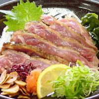 和楽  - 名物 もも肉たたき