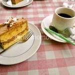 おむれった - ソースで食べるオムライスセット「デザート・ドリンク」