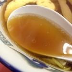 だるま軒 - スープ
