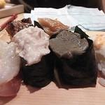 トキワ寿司はなれ - 海老、蟹みそ、ツナマヨ、甘エビ
