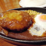 うすけぼー - ハンバーグステーキ