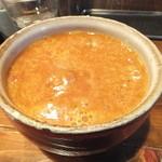 つけ麺 椿 - 辛く無いつけ汁