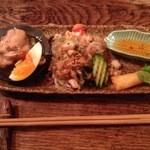 ラホツ - コースの前菜