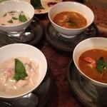ラホツ - ココナッツミルクのスープとトムヤムクン
