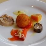 restaurant&garden chou-cho - Bセットランチの前菜盛り合わせ