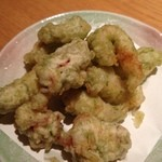 海座 - 明石蛸の唐揚げ