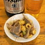 馬力 - 2013.2 馬力漬(199円)砂肝とネギの漬物