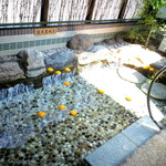 17642817 - ぷかぷか、おミカン露天岩風呂^^