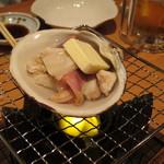 別海町酒場 - ホッキ貝バター焼き