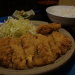 くいしんぼ田ざわ - ジャンボチキンカツ定食