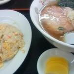 萬寿 - 料理写真:半チャーハンセット