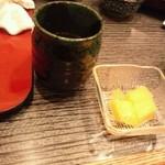 うな藤 - マンゴーのデザート