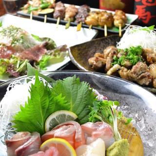 瀬戸内や山陰など、日本海で獲れた鮮度の高い魚介類も楽しめます