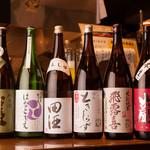 てんてん - 『日本酒を仕入れる時には、いつも味や香りに変化を持たせます』