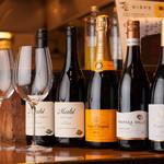 てんてん - ワインはいつまでも美味しく飲めるようにワインセラーも完備。