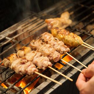 """≪""""てんてん""""のこだわり≫大山鶏の美味しい料理をご堪能下さい。"""