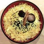 17650828 - 二段ちらし(大盛) 800円 の大盛り寿司飯と錦糸卵
