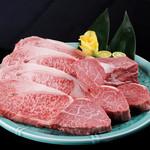 華 - 料理写真:品質の良さはお肉を見ていただければ一目瞭然!