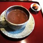 藍備あんてぃーく茶屋 - ドリンク写真:相方のココアです