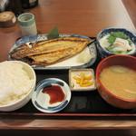 魚や一丁 - さばの開き定食