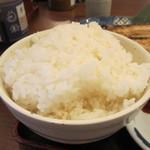 魚や一丁 - ご飯大盛アップ