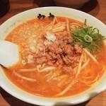 ラーメン 力丸 - 坦々麺