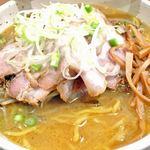 麺や いつき - 肉まきみそらーめん 850円(+大盛100円) 2013.3