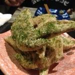 炭焼屋 阿呆鳥 - 料理写真:青さ塩手羽