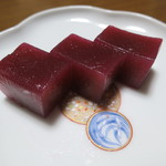 岡本為吉本舗 - 料理写真:小城羊羹(赤)