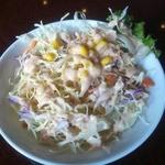 ディヤダハラ - ランチセットのサラダ