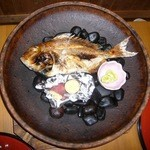 兵部 - 鯛の宝楽焼き