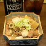 清水 HONTEN - 2013.2 もつ煮(400円)