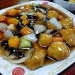 開華園 - 酢豚~ミニサイズ