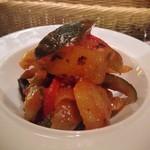 17659278 - ラタトゥイユ                       よく煮込まれてて、野菜の甘さが引き出されてます。ナス、ズッキーニ、パプリカがおいしい!