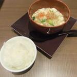 17659709 - 白麻婆豆腐+ライス
