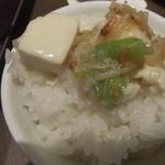 17659711 - 白麻婆豆腐オンザライス