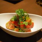 かぶら - フルーツトマトのバジルマリネ