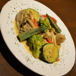 かぶら - 牡蠣と色々野菜のクリーム煮
