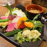 かぶら - バーニャカウダ 野菜