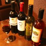 ホリマサラ - ホリマサラのワイン80分飲み放題780円♪プラス300円で女性に人気のサングリアとソフトドリンク飲み放題になります!延長15分¥100