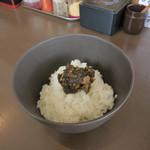 麺屋一耕 - 一耕@銀しゃり +50円